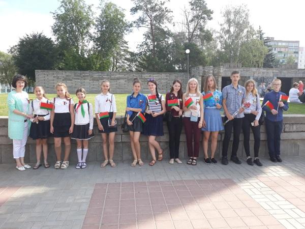 Торжественное мероприятие, посвященное дню освобождения города Могилева от немецко-фашистских захватчиков