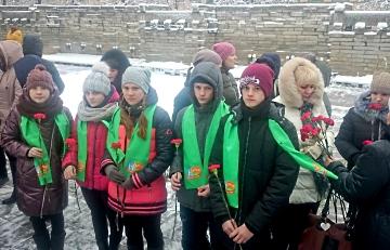 Перезахоронение останков воинов Великой Отечественной войны