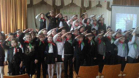Ряды общественного объединения «Белорусская республиканская пионерская организация»